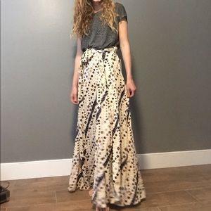NWT Free People Wrap maxi skirt
